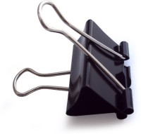 Feiyide Fei Large Metallic Binder Clip(Set of 36, Black)
