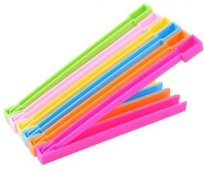 Goodbuy Smart Medium Plastic Sealer Clamps(Set of 6, multicolour)