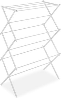 Whitmor Steel Floor Cloth Dryer Stand(White)