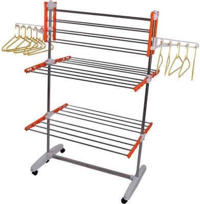 Homemate Plastic, Steel Floor Cloth Dryer Stand