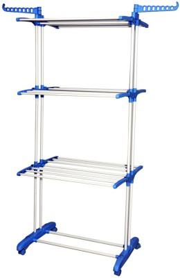 Curve Iron, Nylon Floor Cloth Dryer Stand