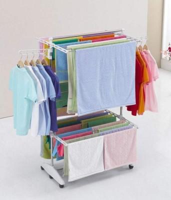 abhinandan Steel, Plastic Floor Cloth Dryer Stand