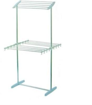 Shrih Steel Floor Cloth Dryer Stand(Blue)