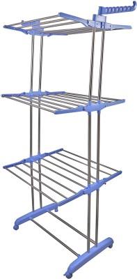 BRECKEN PAUL Stainless Steel, Polypropylene Floor Cloth Dryer Stand