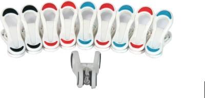 Hommate Hommate multipurpose Grips Pack of 10 pcs Plastic Clothesline