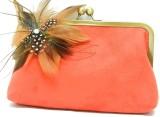 Saint Pure Women Casual Orange  Clutch