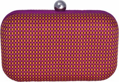 Posh Girls Casual Purple  Clutch