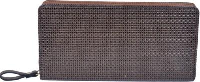 Izansa Girls Brown Artificial Leather Wallet