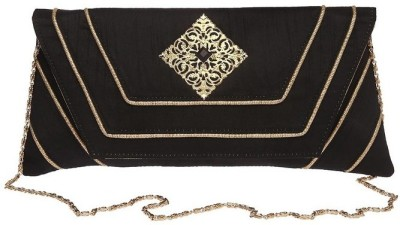 Kashish by Shoppers Stop Casual Black  Clutch