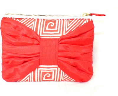 PO,UCH - UP Casual Red  Clutch