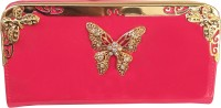 Flair Women Casual Pink, Red, Black, Blue, Gold, Maroon  Clutch