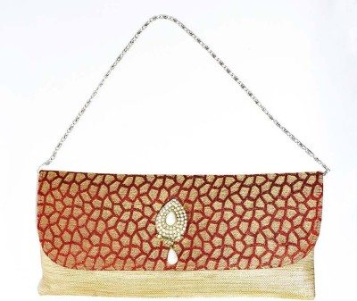 Hadwin Party Red  Clutch
