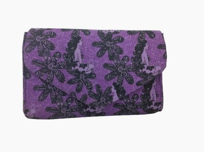 Carry on Bags Girls Casual, Party Purple  Clutch