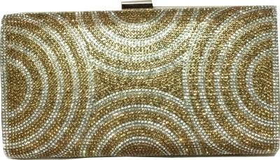 Fashion Rain Party Gold  Clutch