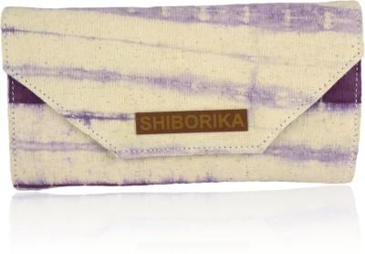 Shiborika Women Casual Purple  Clutch