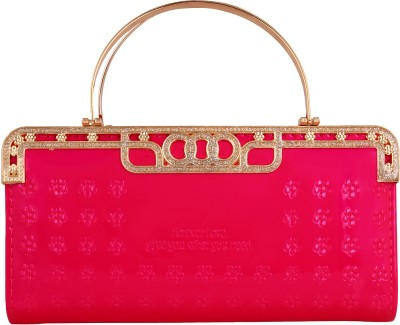Supreme Culture Wedding, Casual, Party, Formal, Festive, Sports Red  Clutch