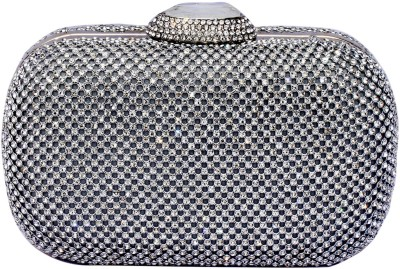 99 Moves Casual Silver  Clutch
