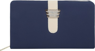 Fashion Hikes Party Blue, Gold  Clutch