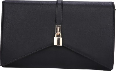 Fur Jaden Women Casual Black  Clutch