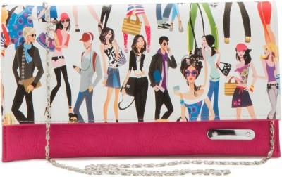 Falah Bag Works Casual Pink  Clutch