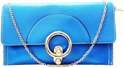 Kion Style Party, Wedding, Festive Blue  Clutch
