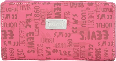 Fristo Casual Pink  Clutch