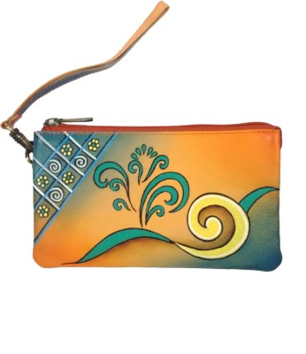 Balona Party, Festive, Wedding Orange  Clutch