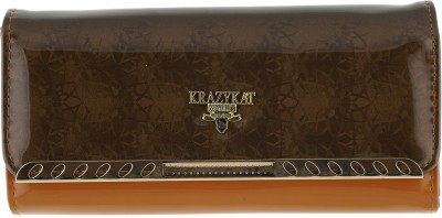 KRAZY KAT Party Brown  Clutch