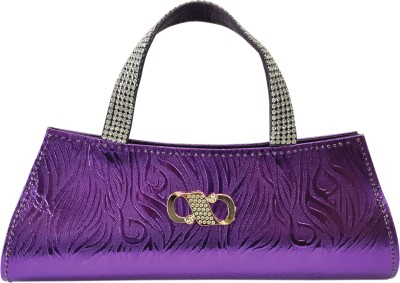 X-WELL Party, Wedding, Festive Purple  Clutch