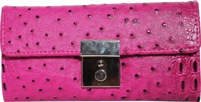 Veins Casual Pink  Clutch
