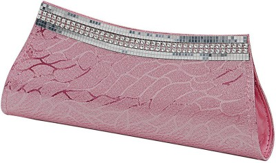 RZ World Casual, Festive, Formal, Party, Wedding Pink  Clutch