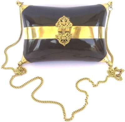 Hemshri Girls Wedding Black  Clutch