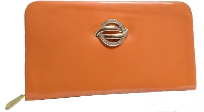 Marutipunch Orange  Clutch