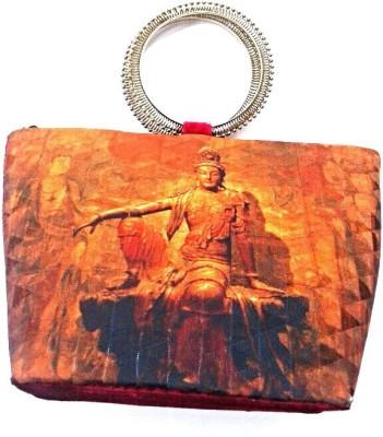 Reshu Women Festive Red  Clutch