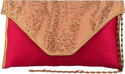 Lizzie Formal Pink  Clutch