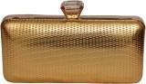Pick Ur Bags Women Gold  Clutch