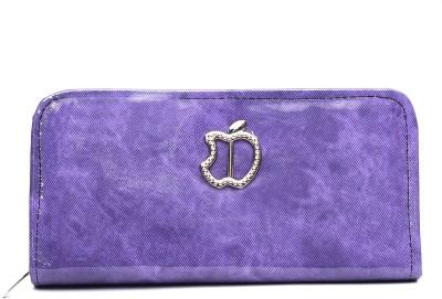 Jolie Casual Purple  Clutch