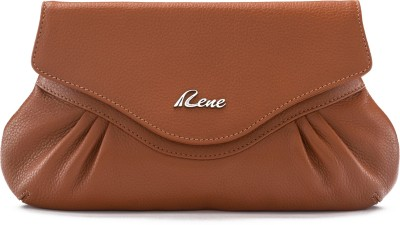 Rene Party Tan  Clutch