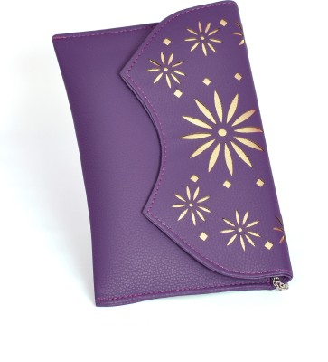 Modesty Creations Purple  Clutch