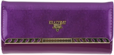 KRAZY KAT Party Purple  Clutch