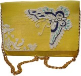Spice Art Women Party Yellow  Clutch