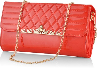 Eyeslanguage Casual Red  Clutch