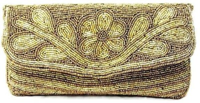 Sunita Fashion Gold  Clutch