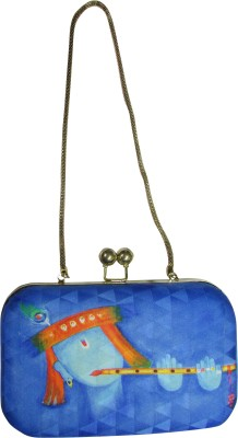 Balee Fashions Girls Party Blue  Clutch