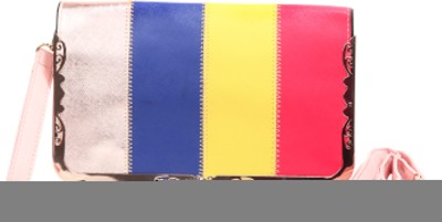 Jolie Casual, Party, Festive Red, Green, Blue, Tan  Clutch