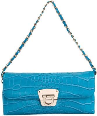 Peaubella Blue  Clutch