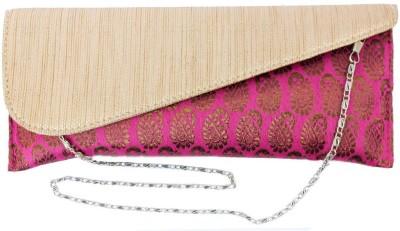 Craftbazaar Pink  Clutch