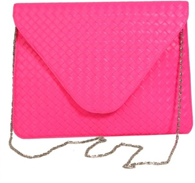 Just Women Women Casual Pink  Clutch