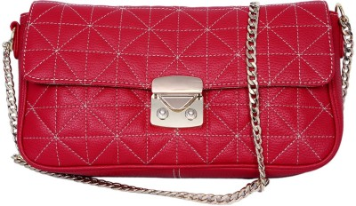 Taws Women Casual Red  Clutch