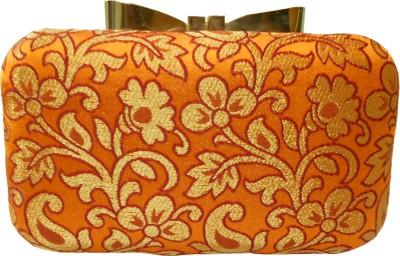 Balee Fashions Women Casual Orange  Clutch